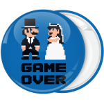 Κονκάρδα Game Over 8bit retro style