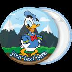 Κονκάρδα βάπτισης Donald Duck in the mountain
