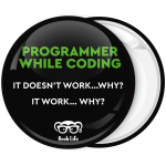 Κονκάρδα Programmer while coding Geek life