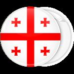 Κονκάρδα σημαία Γεωργίας