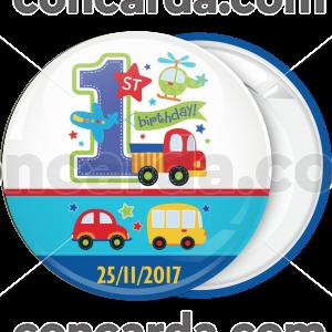 Κονκάρδα 1st Birthday cars