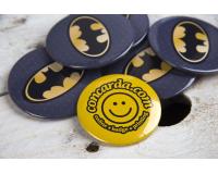 Κλασσικές κονκάρδες Batman logo