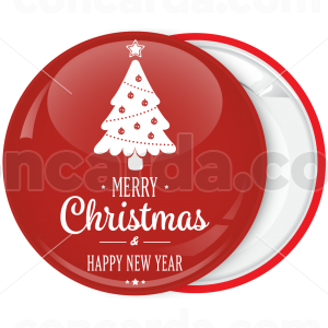 Κλασσική κονκάρδα λευκό Χριστουγεννιάτικο δέντρο