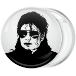 Pop Κονκάρδα Michael Jackson head white