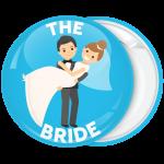 Κονκάρδα γάμου The Bride blue couple