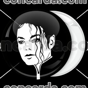 Pop Κονκάρδα Michael Jackson head black