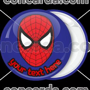 Κονκάρδα γενεθλίων Spiderman mask