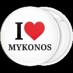 Σουβενίρ κονκάρδα I Love Mykonos