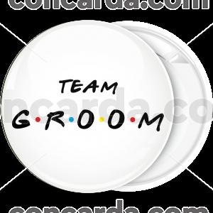 Κονκάρδα team groom friends edition λευκή
