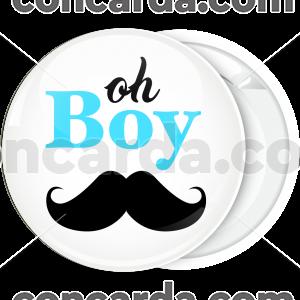 Κονκάρδα baby shower oh boy