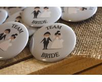Κονκάρδες  Team Bride