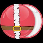 Κόκκινη Κονκάρδα Χριστουγέννων Santa belt