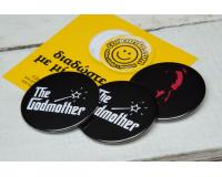 Κονκάρδες Τhe Godmother, the Godfather