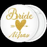 Kονκάρδα Bride Gold Glitter όνομα