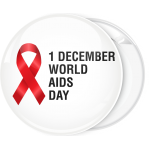 Κονκάρδα Aids world Aids day red ribbon