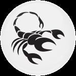 Κονκάρδα Ζώδια Σκορπιός white collection