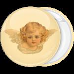 Κονκάρδα vintage πρόσωπο αγγέλου κοριτσάκι