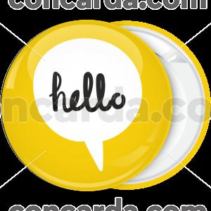 Κίτρινη Κονκάρδα Bubble Hello