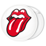 Κονκάρδα Rolling Stones mouth white