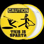 Κονκάρδα This is Sparta Caution κίτρινη