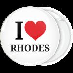 Σουβενίρ κονκάρδα I Love Rhodes