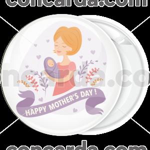 Κονκάρδα Happy Mothers Day baby