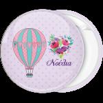 Κονκάρδα Αερόστατο και λουλούδια