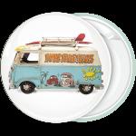 Κονκάρδα φορτηγάκι VW με surf πλαϊνή όψη
