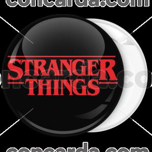 Κονκάρδα Stranger Things logo κόκκινο