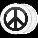 Κονκάρδα Peace λευκή