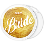 Kονκάρδα Team Bride χρυσή στάμπα