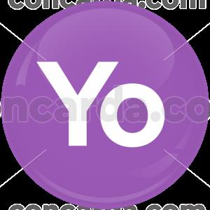 Κονκάρδα με μήνυμα YO