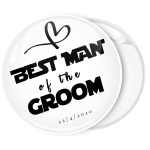 Κονκάρδα Best man flat collection λευκή
