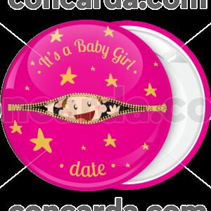 Κονκάρδα Its a baby girl zip
