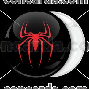 Κονκάρδα Spiderman αράχνη μαύρη