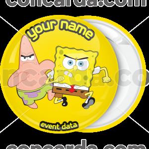 Κονκάρδα Angry Bob and Patrick κίτρινη