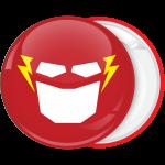 Κονκάρδα Flash μάσκα κόκκινη