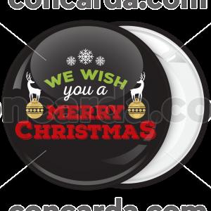 Κονκάρδα We wish you Merry Christmas ταρανδάκια