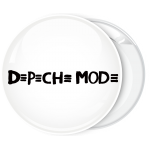 Κονκάρδα Depeche Mode λευκή