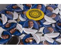 Προεκλογικές κονκάρδες δημοτικών εκλογών