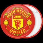 Κονκάρδα Manchester United κόκκινη