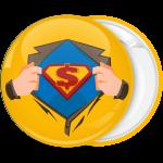 Κονκάρδα Superman dollar κίτρινη