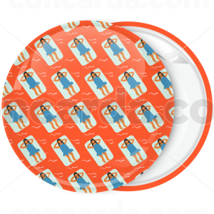 Καλοκαιρινή κονκάρδα κολύμπι στρώμα patterns