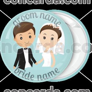Κονκάρδα γάμου harmony couple green