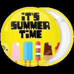 Κίτρινη Κονκάρδα με παγωτά Its summer time