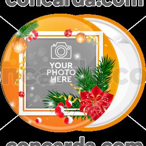 Κονκάρδα Χριστουγεννιάτικο Photo booth Mistletoe