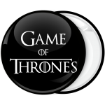 Κονκάρδα Game of Thrones Logo
