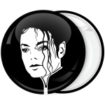 Pop Κονκάρδα Michael Jackson head black