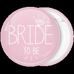 Kονκάρδα Bride to be διαμάντι ροζ