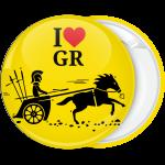Κονκάρδα Έλληνας στρατιώτης με άλογο